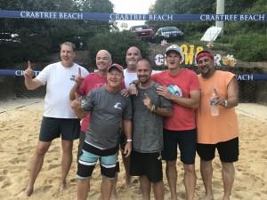 2018 Growler Beach Volleyball Tournament Senior League Winners