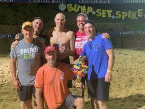 Growler Beach Volleyball Tournament 2019 Senior League Winners