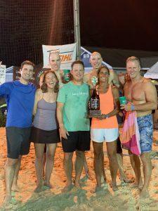 Growler Beach Volleyball Tournament 2019 Winners: Kiss My Ace